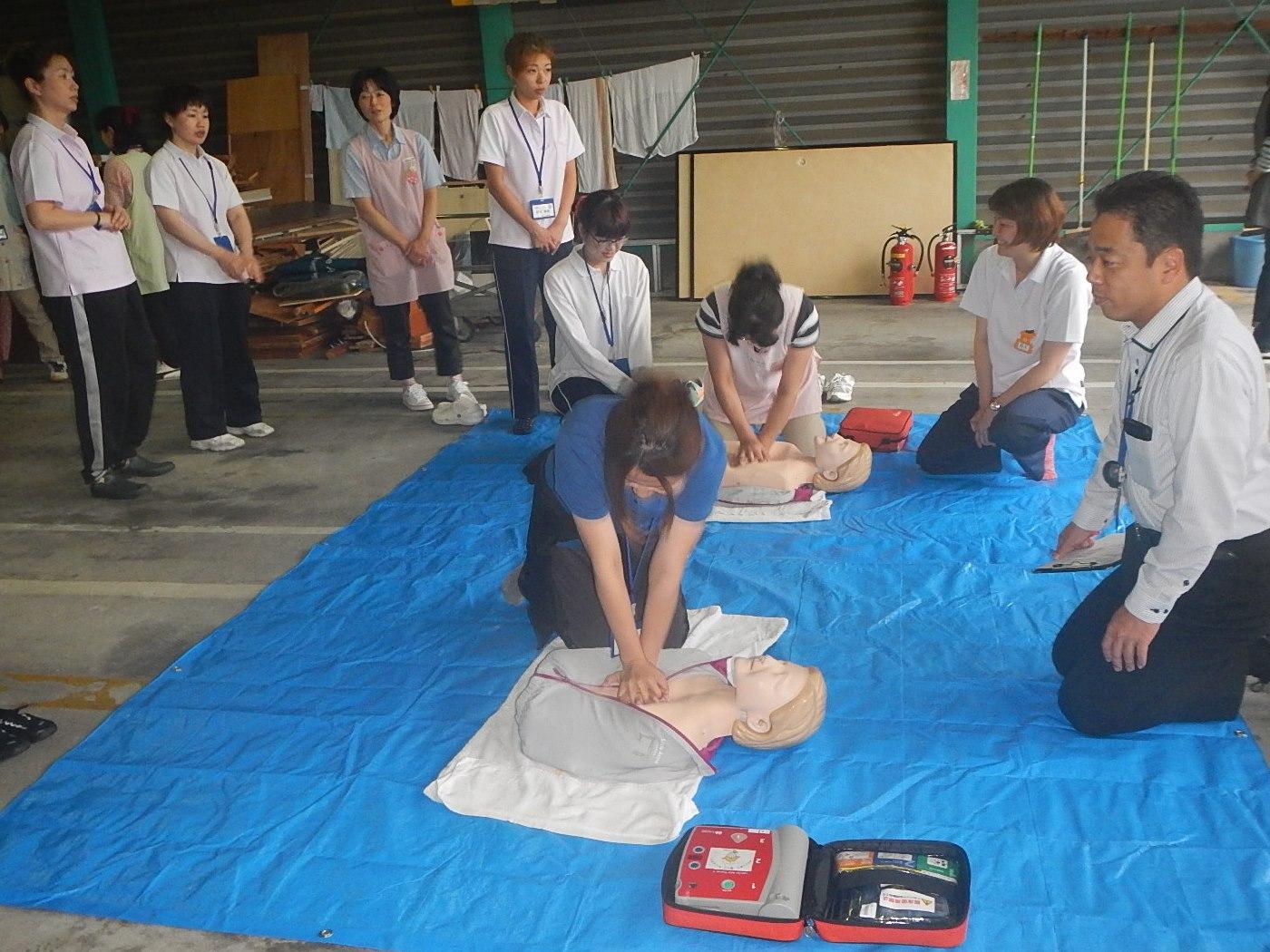 福祉の村防災訓練
