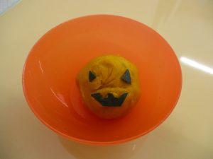 かぼちゃ茶巾絞り